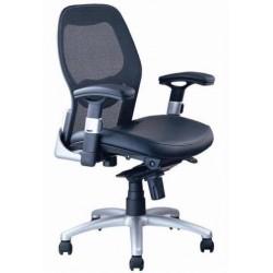 Bureaustoel zonder hoofdsteun