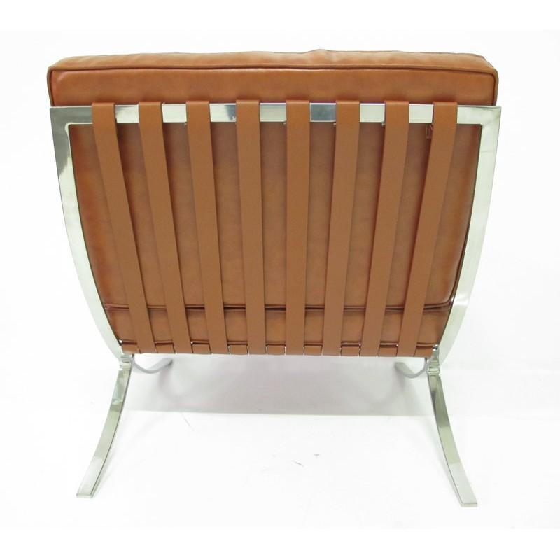 barcelona lounge fauteuil cognac sale. Black Bedroom Furniture Sets. Home Design Ideas