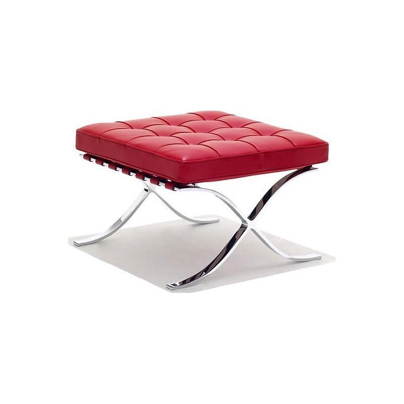 Barcelona Lounge Hocker Red