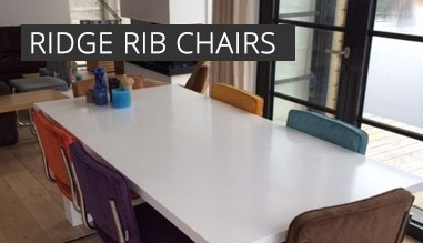 Ridge rib chairs